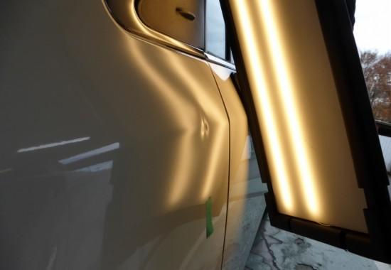 トヨタ アベンシス フェンダーのヘコミ