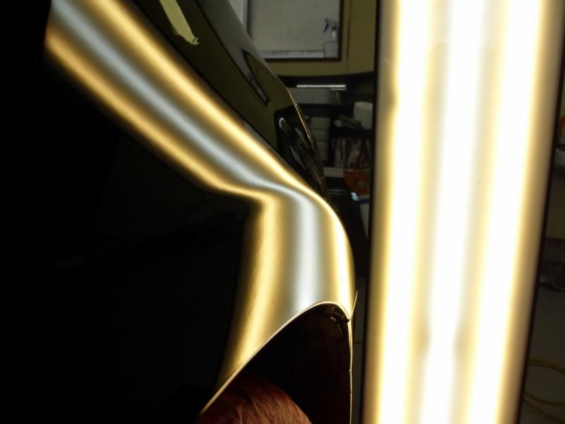 トヨタ202ブラック クラウンのデントリペア【つくばみらい市】