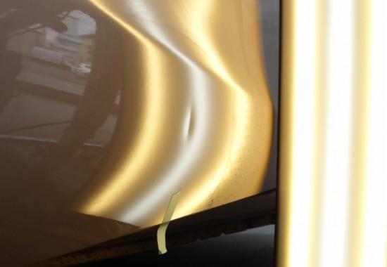 タントのドアパンチは上下に2か所!デントリペアで元通り【守谷市】