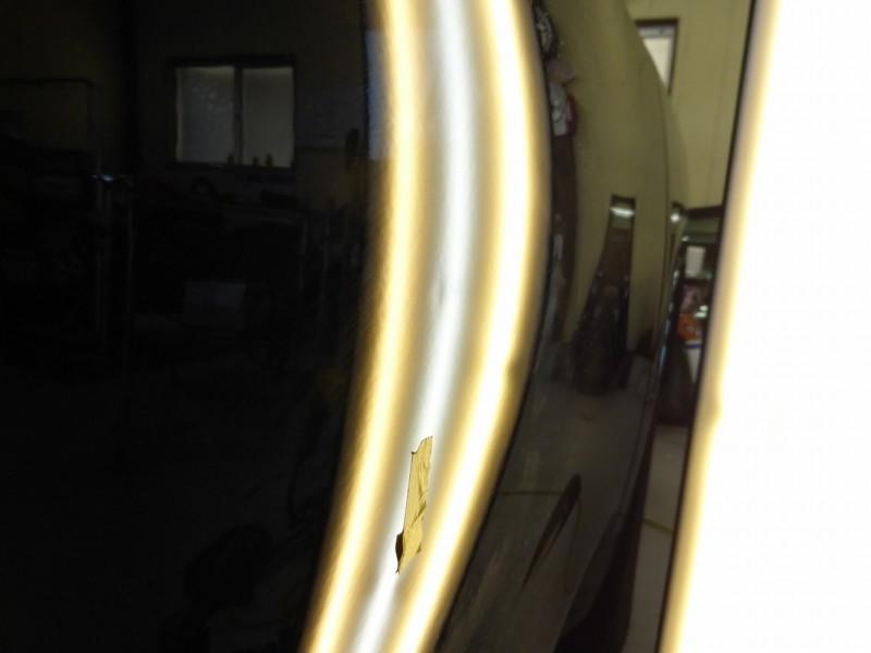 ランドクルーザープラド ドアの小さな凹みはデントリペアで【常総市】