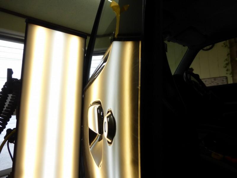 ジムニーのデントリペアは、リピーターさんの遊び車【守谷市】