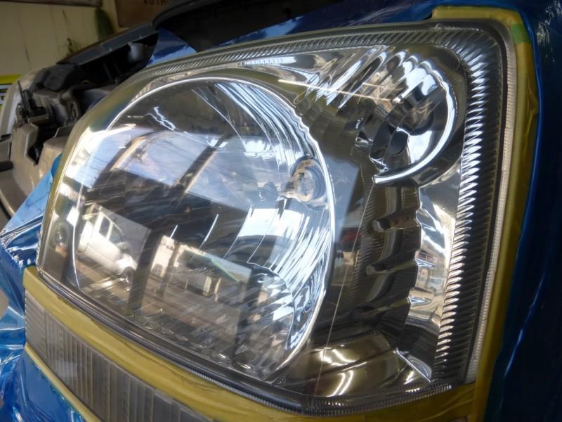 ヘッドライト磨きは同時施工がお得です【つくば市】