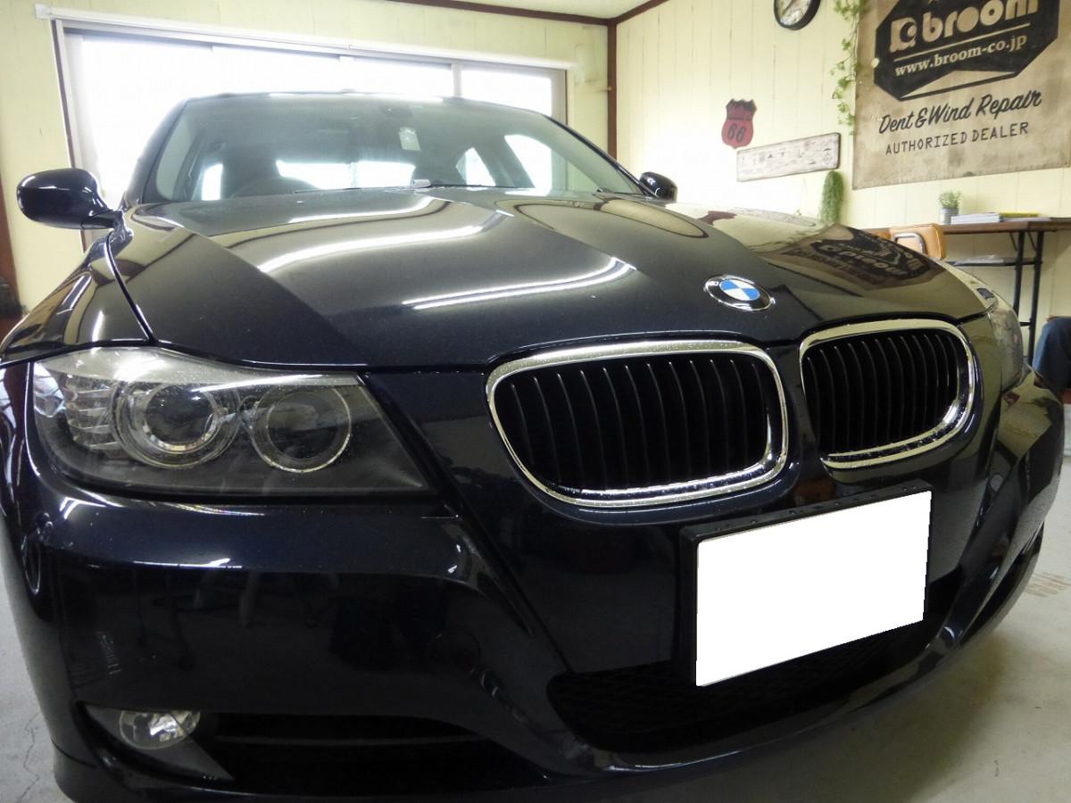 BMWやラッシュ、ステップワゴンのフロントガラスリペア【つくばみらい市・取手市・龍ヶ崎市】