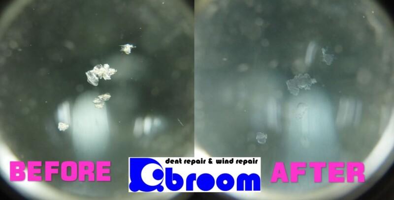 フロントガラスの小さいヒビの修理を3台分【取手市・守谷市】